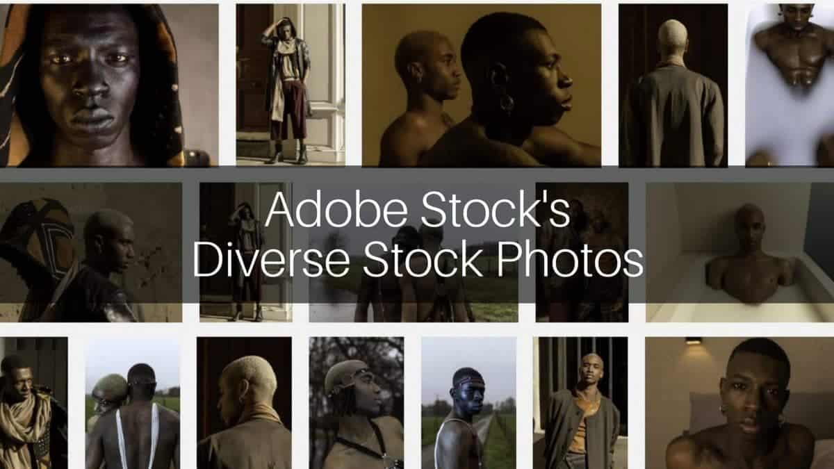 Adobe Stock Diverse Stock Photos Header > Adobe Stock's Diverse Stock Photos: The Fluid Self Exclusive Collection