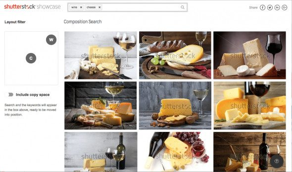CompositionSearch Layout > Shutterstock Improves Search with New AI Plugin and Showcase Site