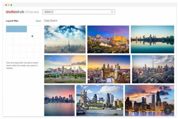 CopySpace Skylines > Shutterstock Improves Search with New AI Plugin and Showcase Site