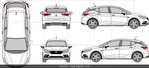 opel628 767x349 > Best Car Outlines Solution: Vehicle Templates and Where to Buy Them