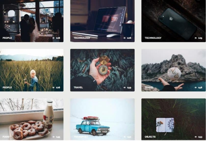 NegativeSpace Screenshot > The 27+ Best Free Stock Photo Sites in 2019!
