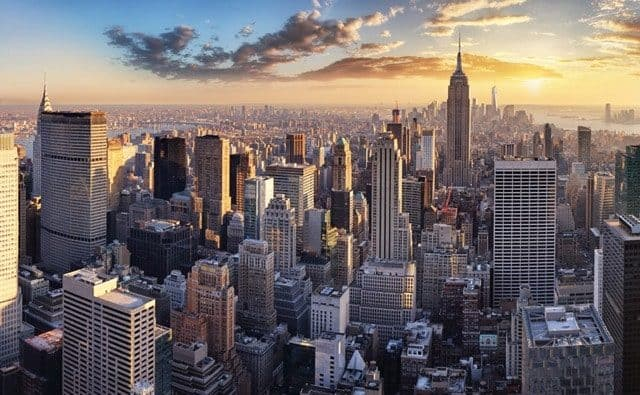 Adobe Stock Most Downloaded New York City Aerial View Daylight