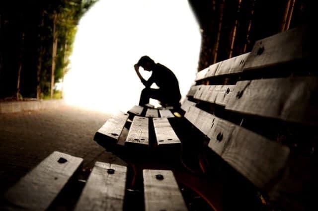 Teen Concerned Depression Tunnel