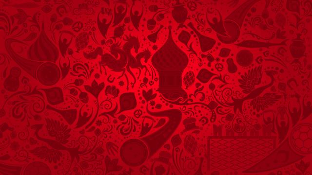 Shutterstock Most Downloaded Red Russian Themed Pattern