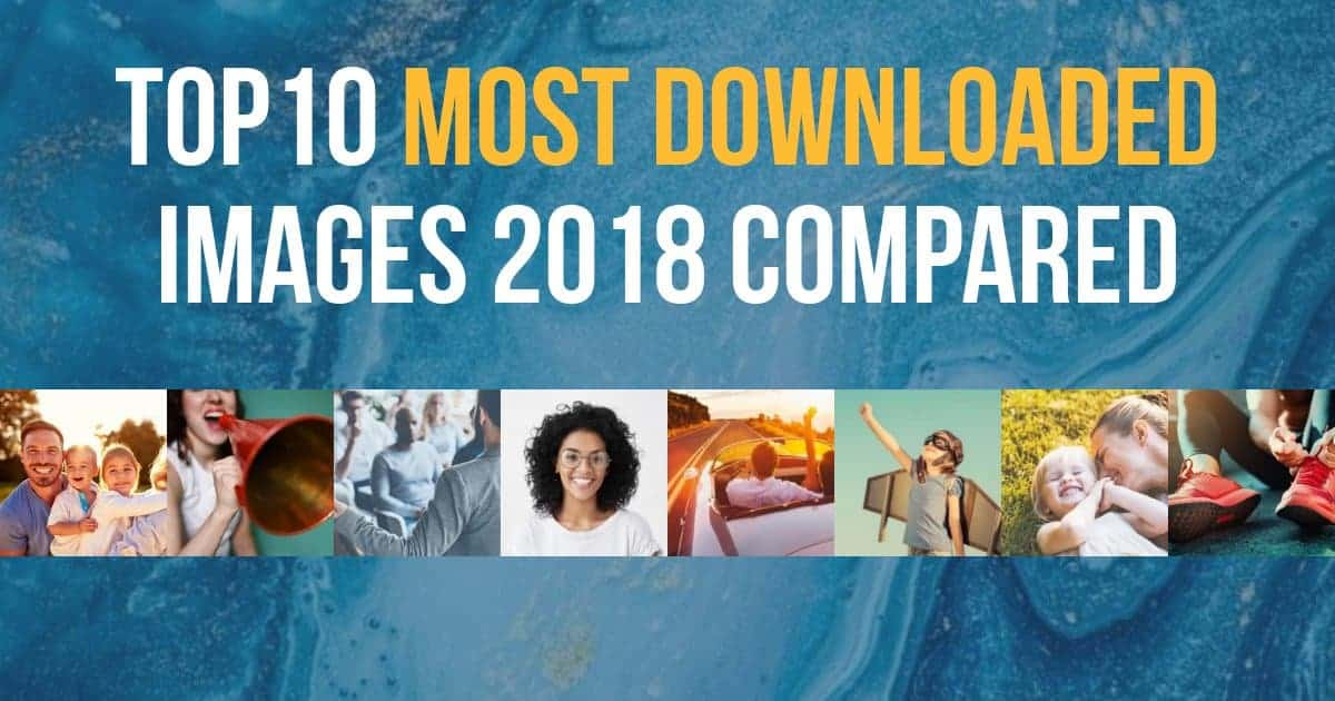 top10 most downloaded images 2018 > The 60 Most Downloaded Images in 2018 from Top Stock Photo Agencies Compared