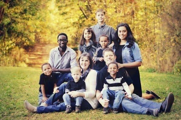 Multi Racial Family