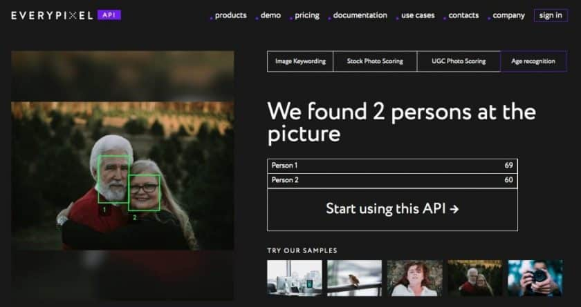 Everypixel Age Recognition > Everypixel's New Feature Can Tell the Age of People in Photos