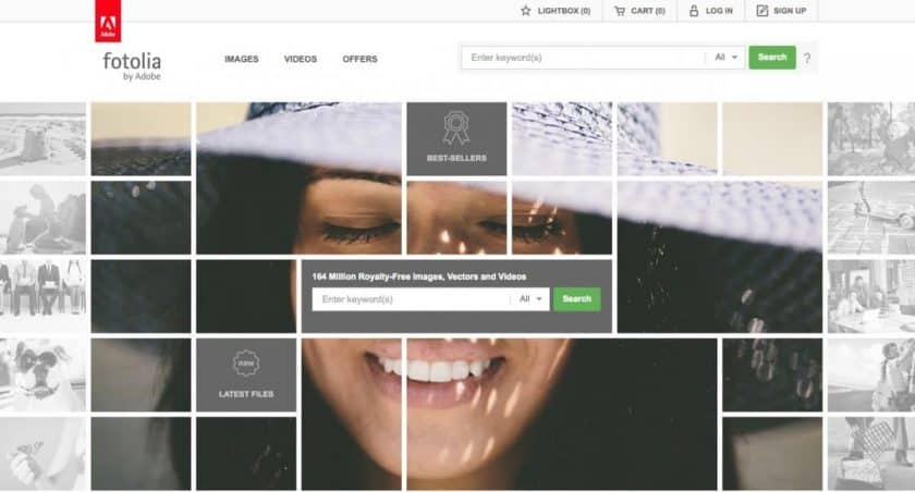 Fotolia Homepage 2019 > Discover the 4 Best Fotolia Alternatives!