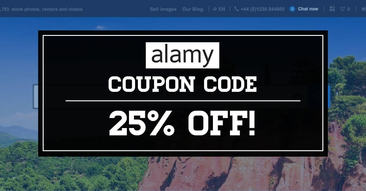 Alamy Coupon Code Header > Alamy Coupon Code - Get 25% Off in your Images at Alamy!