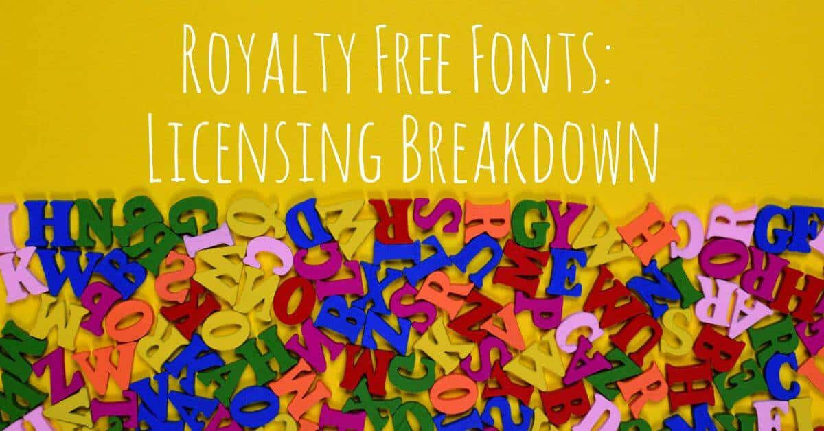 royalty free fonts header > A Royalty Free Fonts Breakdown for Graphic Designers