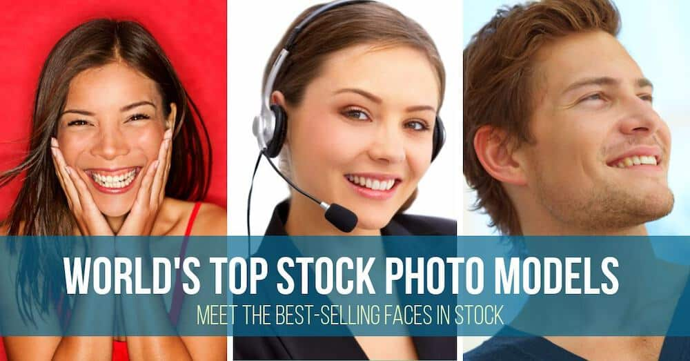 stock photo models best selling > World's Top Stock Photo Models: Meet the Best-Selling Faces in Stock