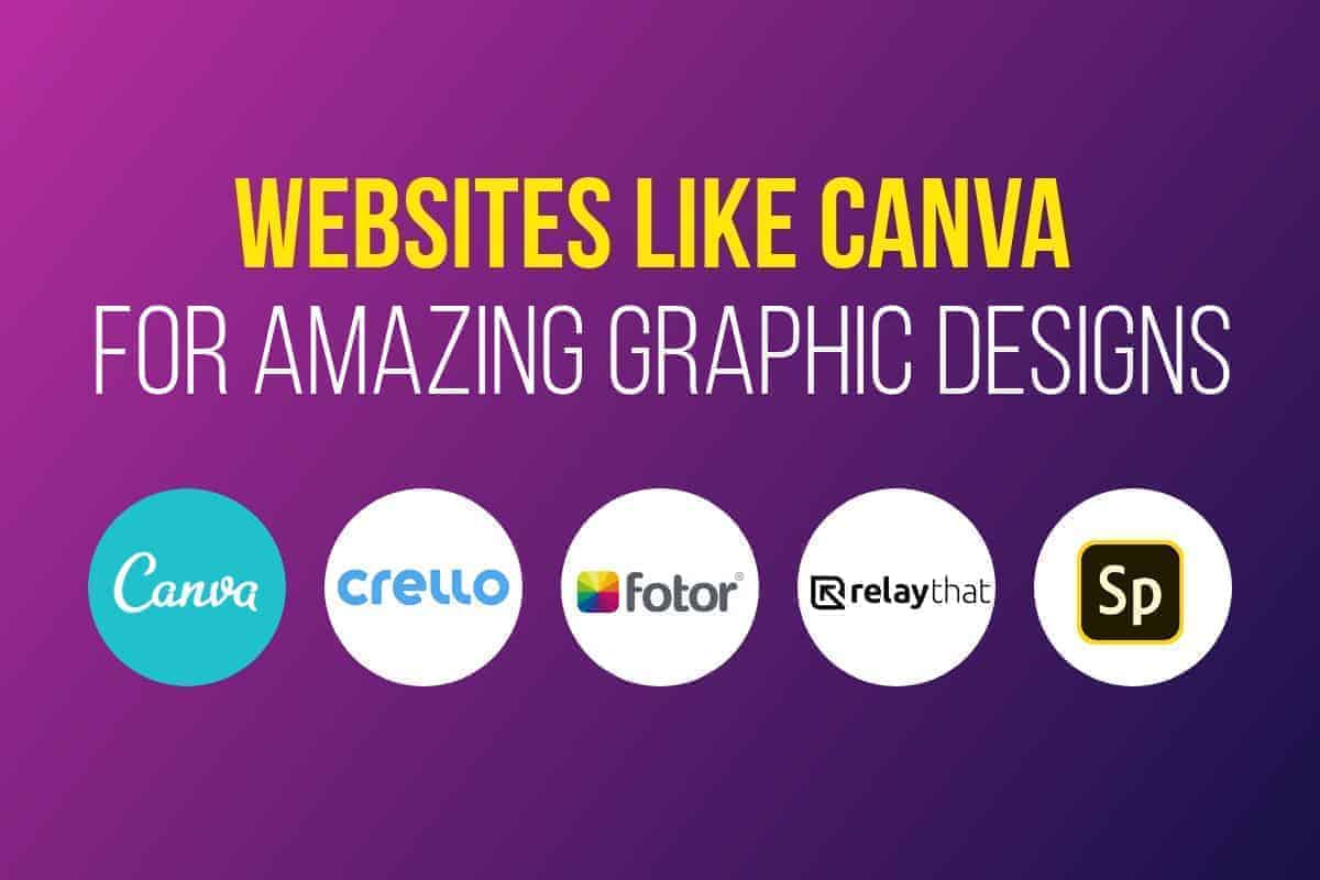 websites like canva > Best 19 Websites Like Canva for Fast & Simple Graphic Designs