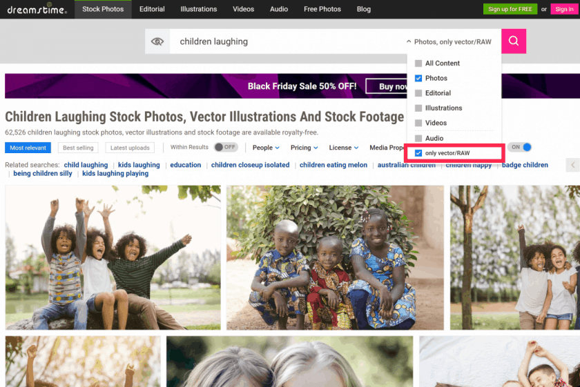 Screenshot 34 > 5 Reasons You Need RAW Stock Photos
