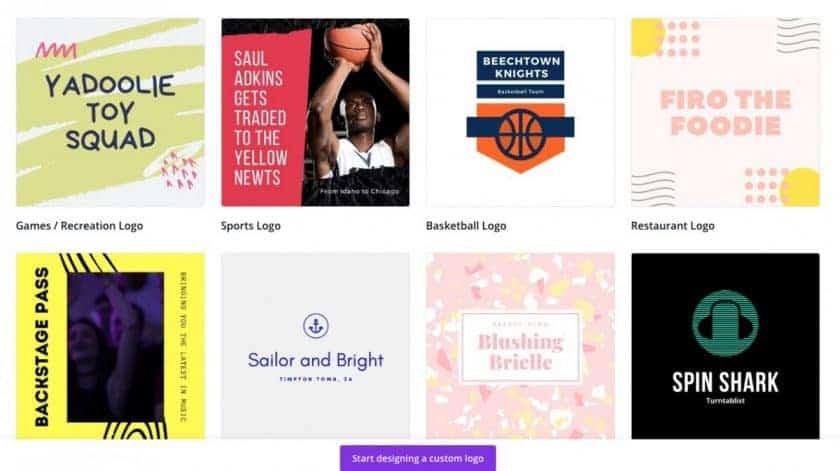 Canva Logo Templates > How to buy a company logo