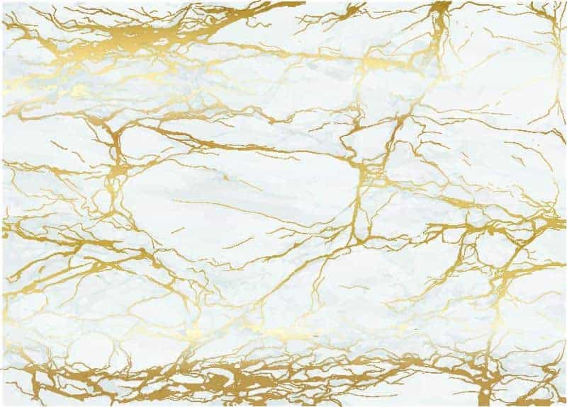 Mramorové zlato a bílá textura