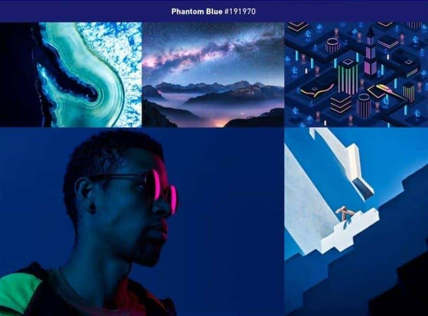 Shutterstock Phantom Blue > 48 Breathtaking Photography Trends 2020