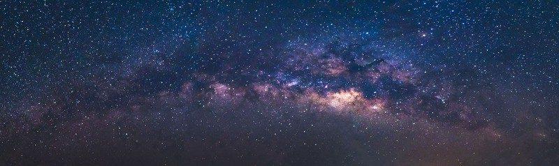 Panoramatický výhled na Mléčnou dráhu
