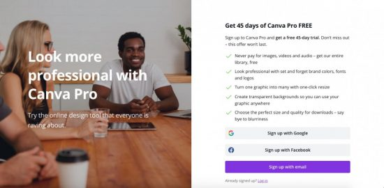 Canva Pro Free Trial 45 Days Temporary Header > The 7 Best (Free) Tools to Add Text to Stock Photos