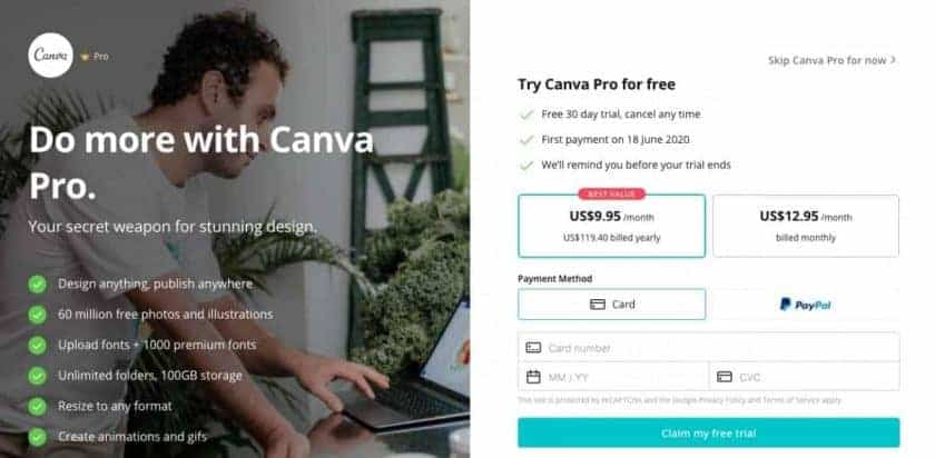 Awesome Canva Free Trial! Here's How to Get Canva Pro Free For One Month >  Stock Photo Secrets