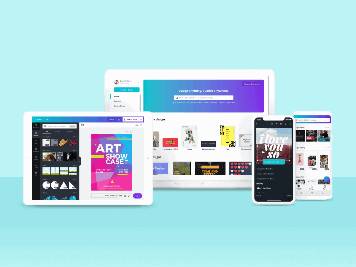 Cross Platform Screenshot > Canva Unveils Major Content Update: 60 Million Images for Canva Pro!