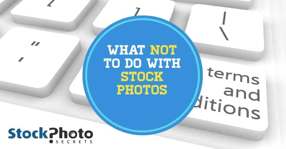 What Not To Do With Stock Photos Header > What Not to Do with Stock Photos - Sensitive Use Stock Photos Explained