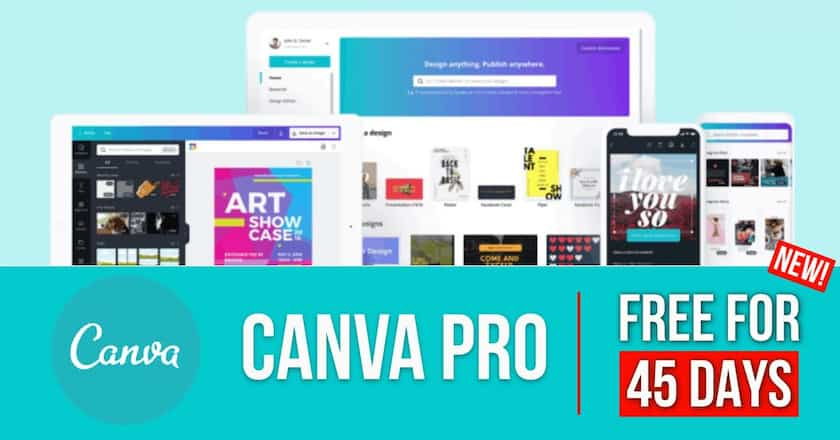 canva pro for free > Awesome Canva Free Trial! Here's How to Get Canva Pro Free FOR 45 DAYS