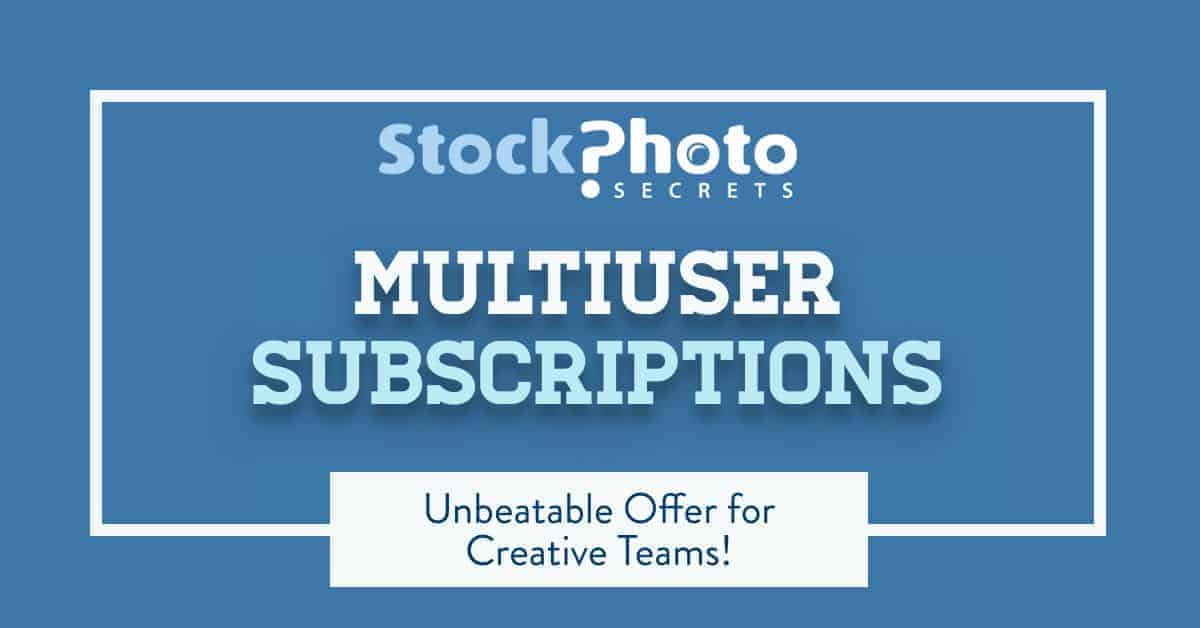SPS Multiuser Subscriptions Header > New Stock Photo Secrets' Multiuser Subscriptions: an Unbeatable Offer for Teams!