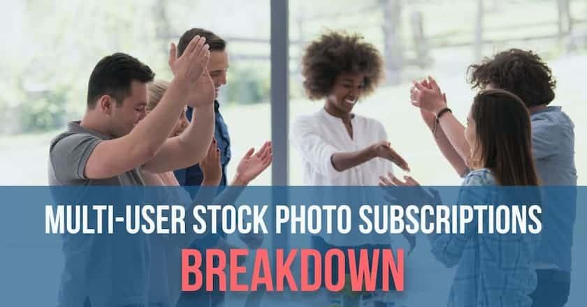 multi user stock photo subscriptions breakdown > Multi-User Stock Photo Subscriptions Breakdown (+ 5 Best Deals)