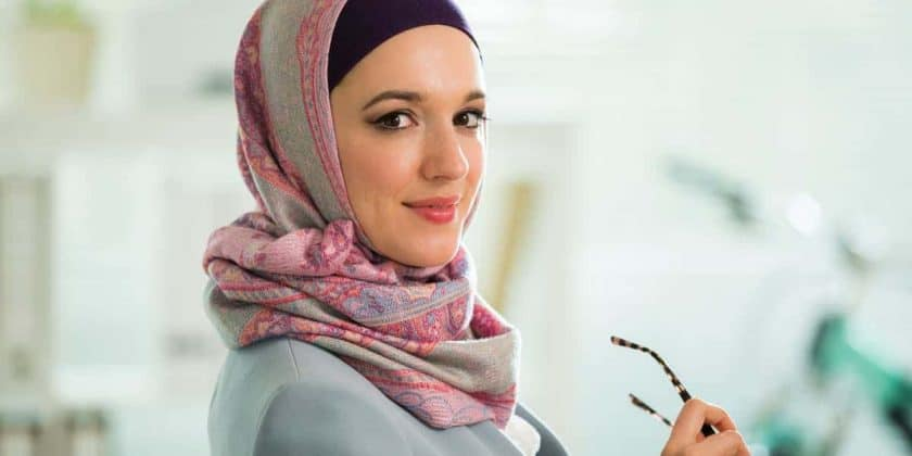 Beautiful Business Woman with hijab