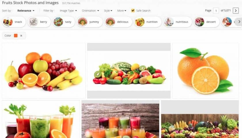 123RF Color Filter > The Best Color Combinations for Brands (Psychology of Color in Stock Photography)