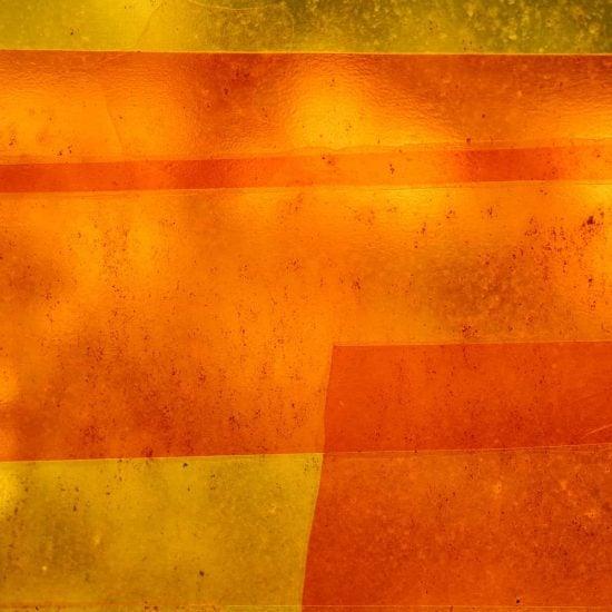 gradiente de vermelho e laranja