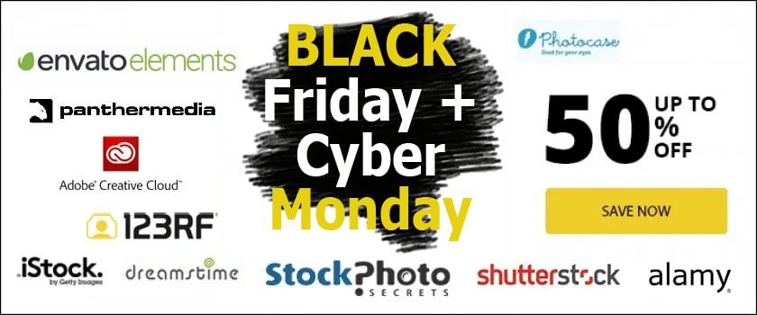 cyber monday SPS > Black Friday [wpsm_custom_meta type=date field=year] & Cyber Monday 2020: All Must-Have Stock Photo Deals