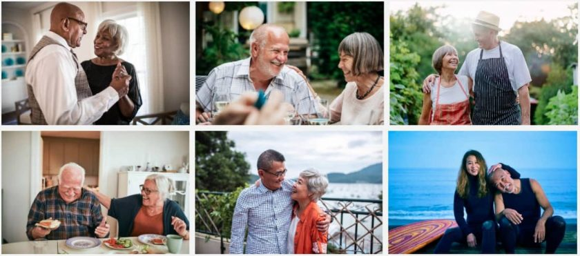 Getty Images Disrupt Aging > Okay, Boomer! Modern Senior Stock Photos in Focus