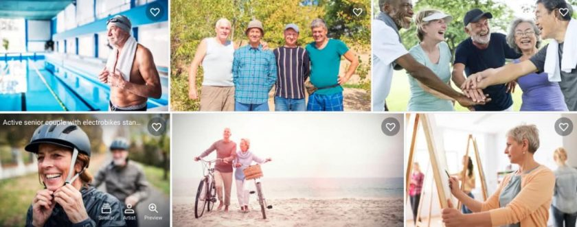 Shutterstock Senior Photos > Okay, Boomer! Modern Senior Stock Photos in Focus