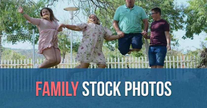 family stock photos > Perfect Family Stock Images: The New Concept of Family