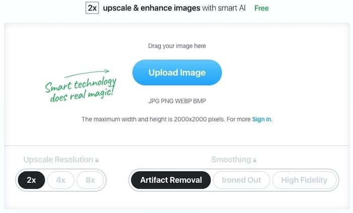 upscale form > Top 10 Best Image Upscaler Tools for Creatives