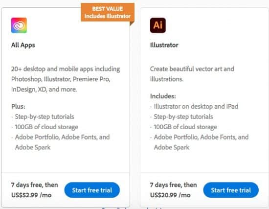 Adobe Illustrator Free Trial > Download Adobe Illustrator for Free + Best Price for Creative Cloud Subscription