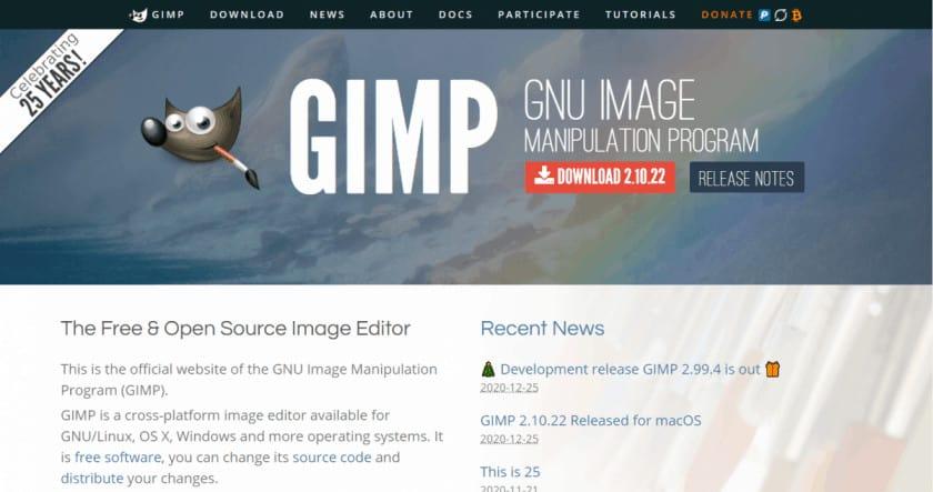GIMP 1 > The Best Free Graphic Design Software Tools in [wpsm_custom_meta type=date field=year]