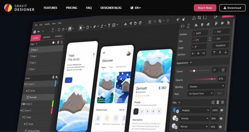Gravit Designer > The Best Free Graphic Design Software Tools in [wpsm_custom_meta type=date field=year]