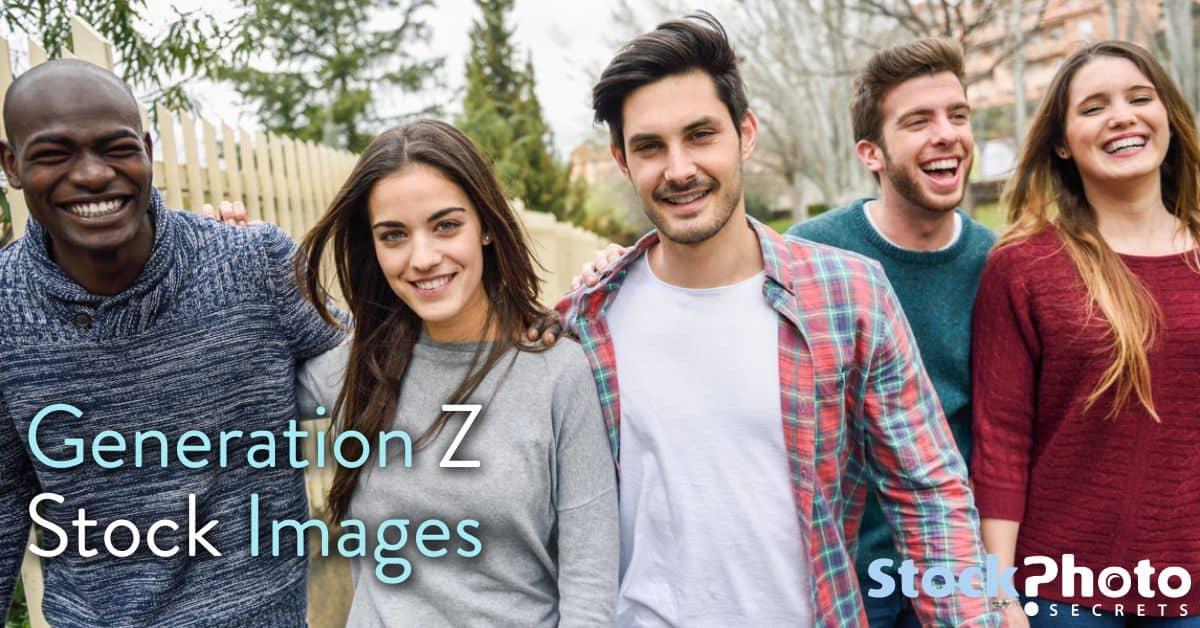 Generation Z header > 6 Proven Tricks for Generation Z Stock Images