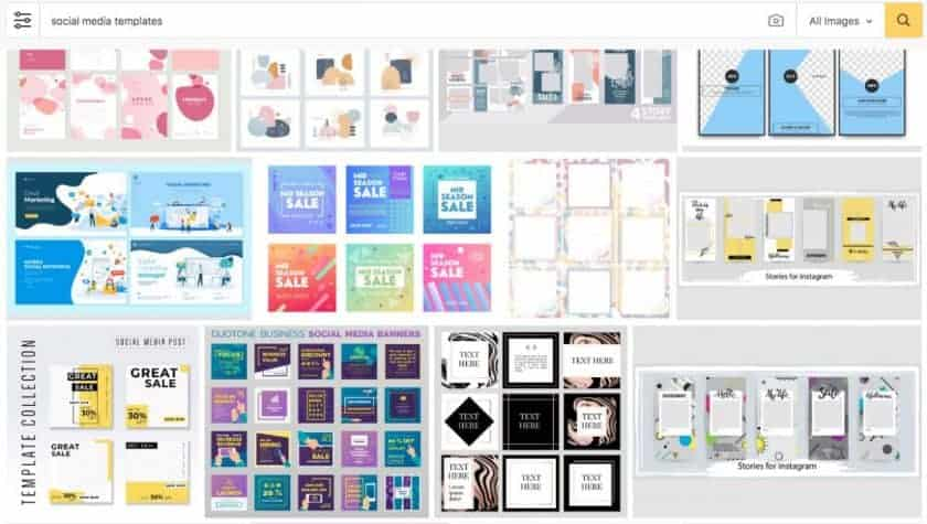 123rf social media templates > The Secret of Cool Social Media Graphics (Quick, Easy, and Dirty Cheap)