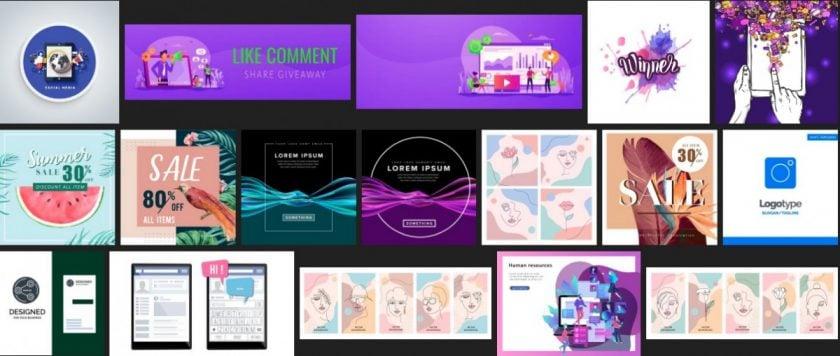 screenshot sps social media graphics