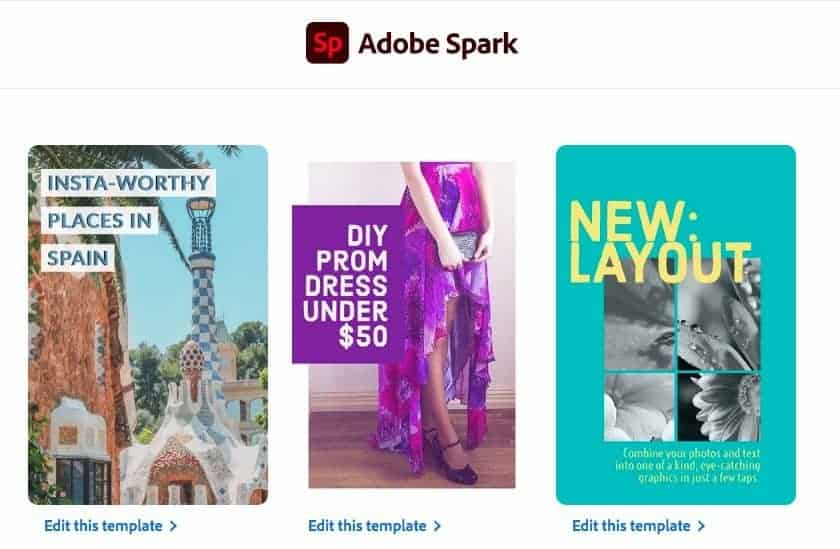 adobe spark social media templates > The Secret of Cool Social Media Graphics (Quick, Easy, and Dirty Cheap)