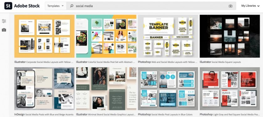 adobe stock social media templates > The Secret of Cool Social Media Graphics (Quick, Easy, and Dirty Cheap)