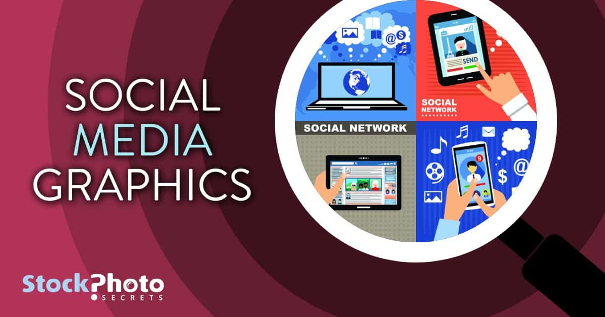 social media graphics header > How to Find and Buy Stock Photos