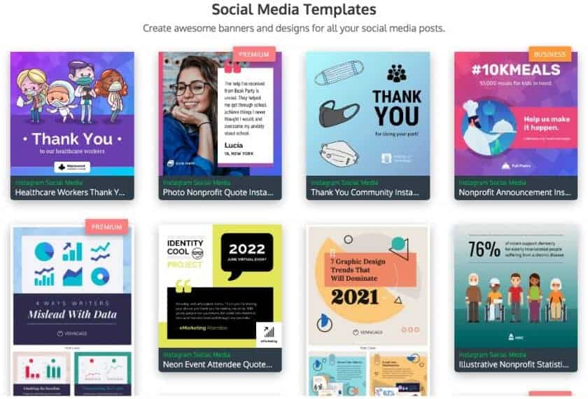 venggage social media templates > The Secret of Cool Social Media Graphics (Quick, Easy, and Dirty Cheap)