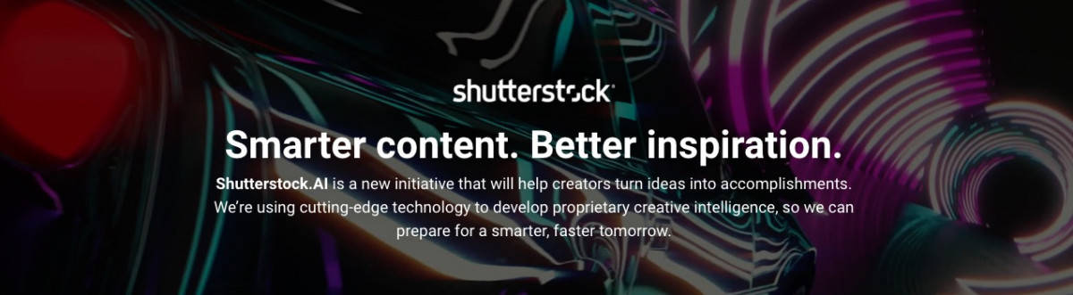 Shutterstock.AI home > Shutterstock Launches Shutterstock.AI Platform for AI Creative Solutions