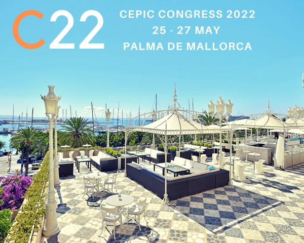 CEPIC C22 > CEPIC Announces Congress 2022 in Mallorca - Big Changes Towards CEPIC 2.0