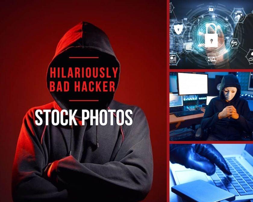 Hilariously Bad Hacker Stock Photos 1 > Hilariously Bad Hacker Stock Photos (And Some Cool Ones to Use Instead)