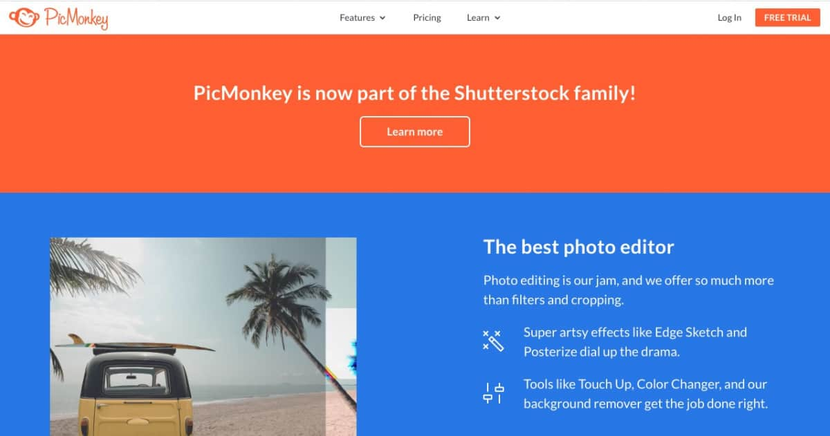 Shutterstock Acquires PicMonkey > Shutterstock Acquires PicMonkey to Further Design Tools Offer